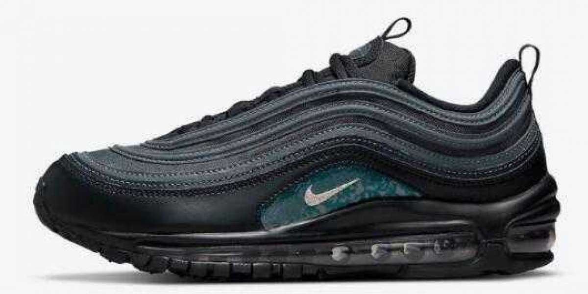 Latest Nike Air Max 97 Dress Up Emerald Green Reflective Accents
